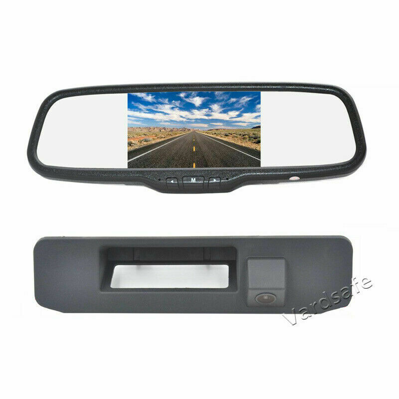 Monitor de espejo de cámara de respaldo para Mercedes Benz GLK GLA GLC GLE A180 A200 A260