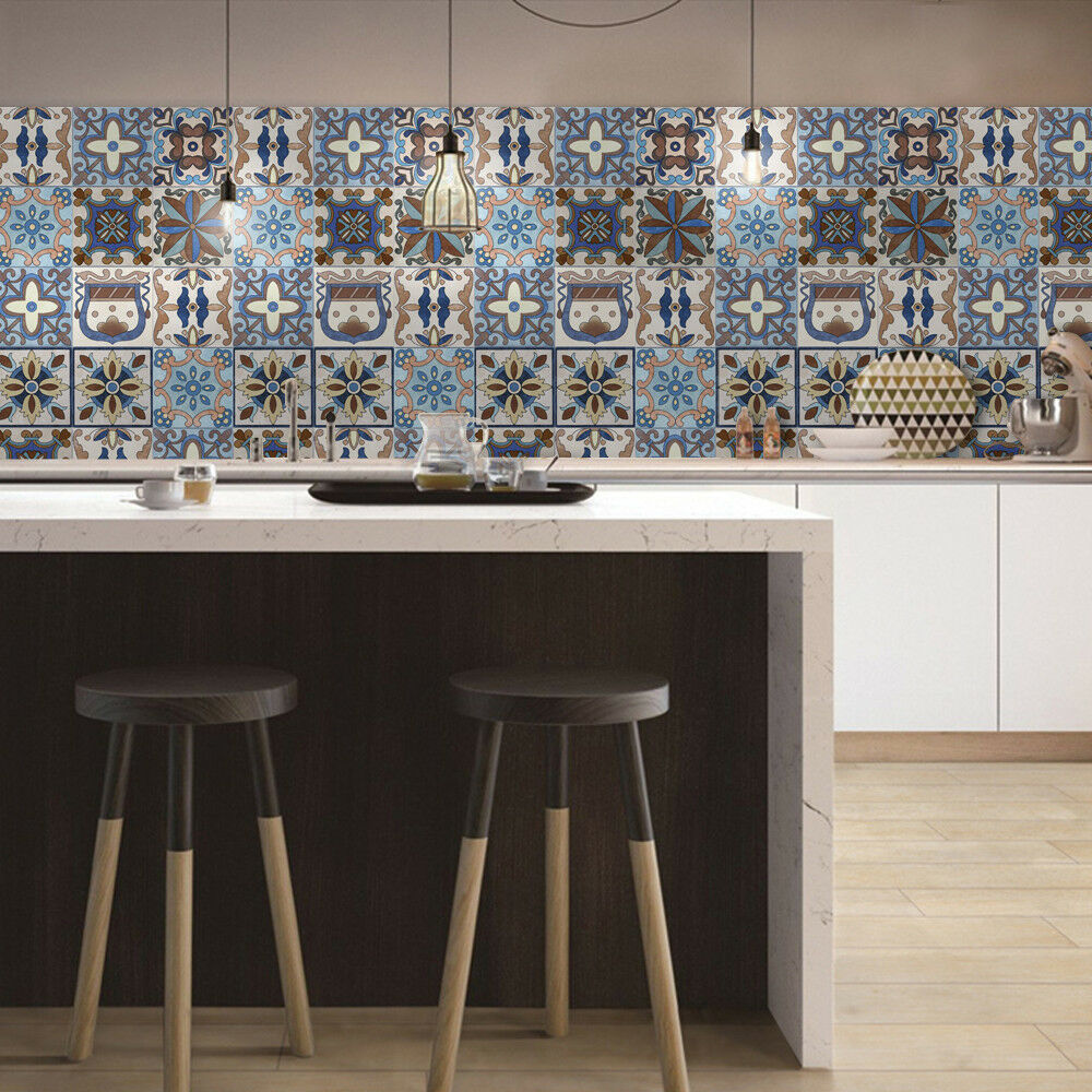 - New Backsplash Tile Sticker Traditional Talavera Tiles Stickers