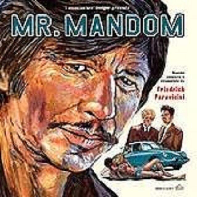 FRIEDRICH PARAVICINI - MR.MANDOM  CD NEUWARE