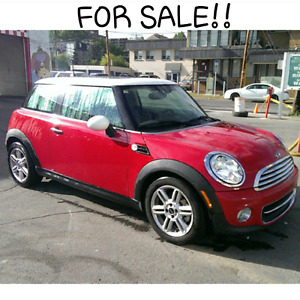 2013 MINI COOPER 2Dr - Low KM/Single lady owner