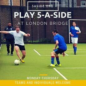 SPACES - London Bridge 5-a-side Football!