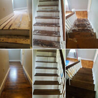 Flooring and Staircase Restoration/Refinishing