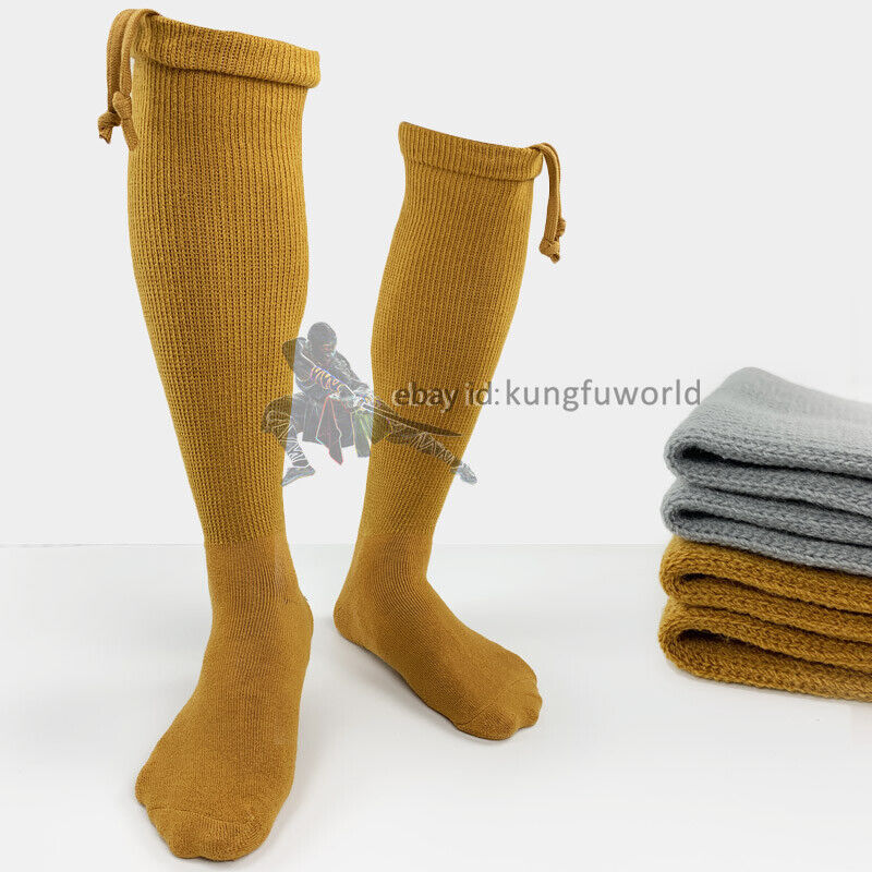 как выглядит Winter Shaolin Buddhist Monk Kung fu Socks Martial arts Tai chi Shoes фото