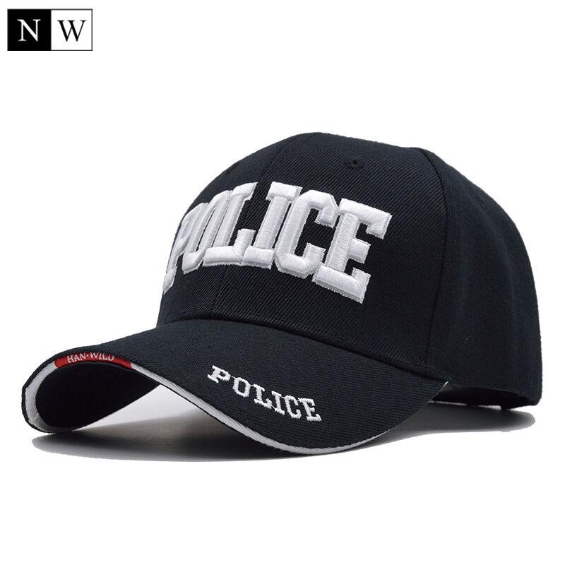 Casquette police réglable neuf