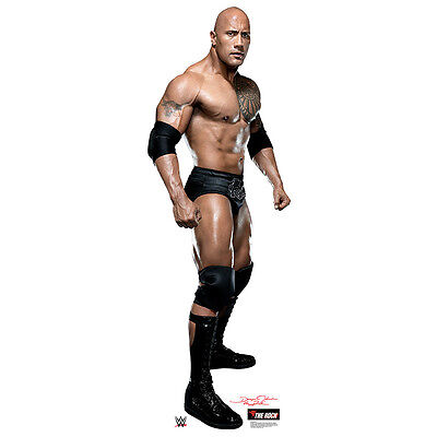 The Rock Wwe Wrestling Dwayne Johnson Lifesize Cardboard Cutout Standup Standee