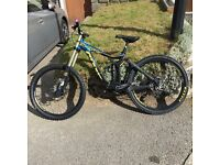 Giant Glory 1 2014 downhill mountain bike
