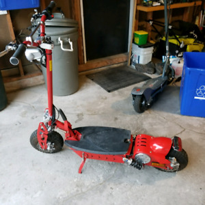 Electric scooter for sale NEW BATTERIES super fast razor e300