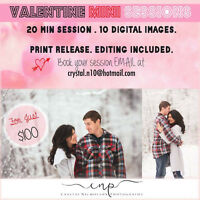Valentine's Day Mini Session Special!!