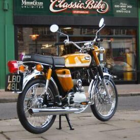 1973 Yamaha SS50 Fs1e Classic Vintage Genuine Rare UK Pedal Bike, Zero Miles WoW