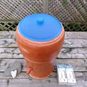 Stefani Water Purification Terracotta Crock from Brazil Kitchener / Waterloo Kitchener Area image 5