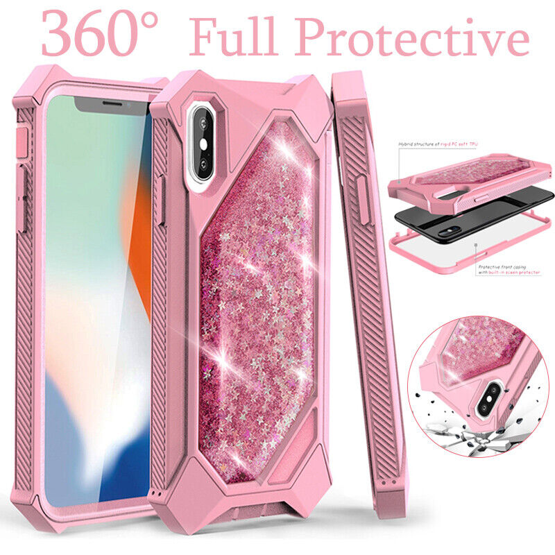 For iPhone XR XS MAX 8 7 6 Plus Heavy Duty Shockproof Hybrid