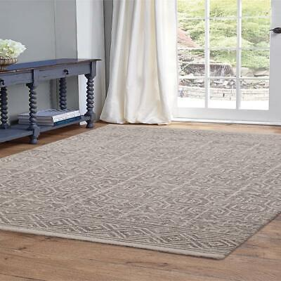 Abacasa Everest Chione Grey and Ivory Area Rug