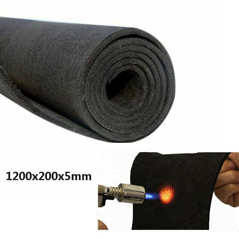 "47""x8"" Graphite Carbon Felt Soft Sheet Furnace Insulation Panel Electrode US"