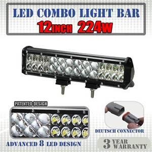 12inch 224W Philips Lumileds LED Light Bar Flood Spot Combo Work Wangara Wanneroo Area Preview