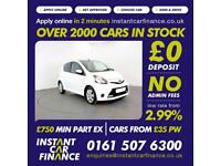 Toyota Aygo Vvt-I Move With Style Hatchback 1.0 Manual Petrol BAD / GOOD CREDIT