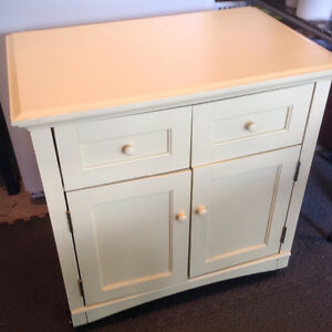 Cute rolling Kitchen Cabinet