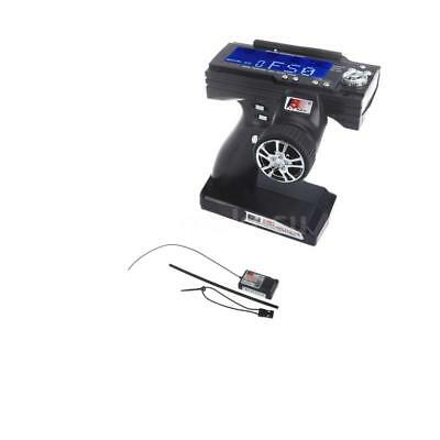 FlySky FS-GT3B 2.4G 3CH Radio Model LCD Transmitter & Receiver For RC Car M1K9