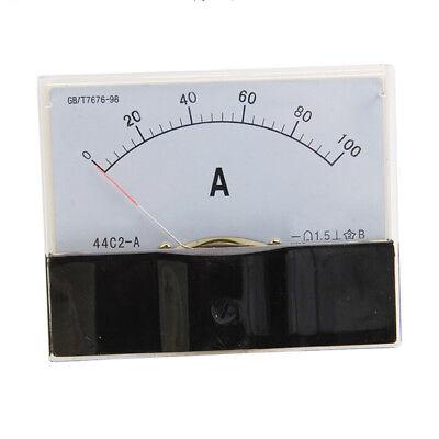 Dc 0-100a Scale Range Current Panel Meter Amperemeter Gauge 44c2 Ammeter Analog