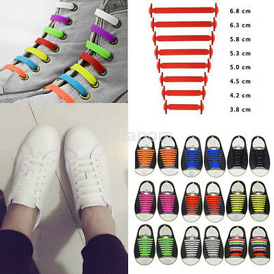 Shoes For Adults (Easy No Tie Elastic Silicone Shoe Laces For Adults & Kids Trainers Shoes)