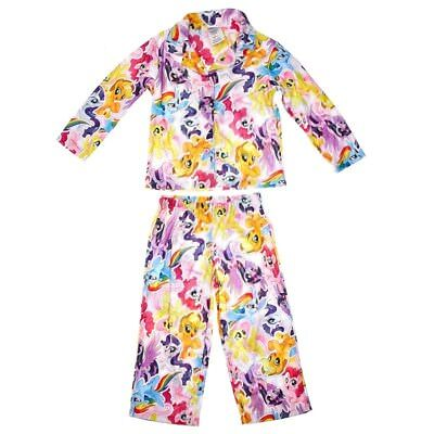 Girls My Little Pony Top and Bottom Pajamas Set Size 4-6 by MY LITTLE PONY NWT (My Little Pony Pjs)