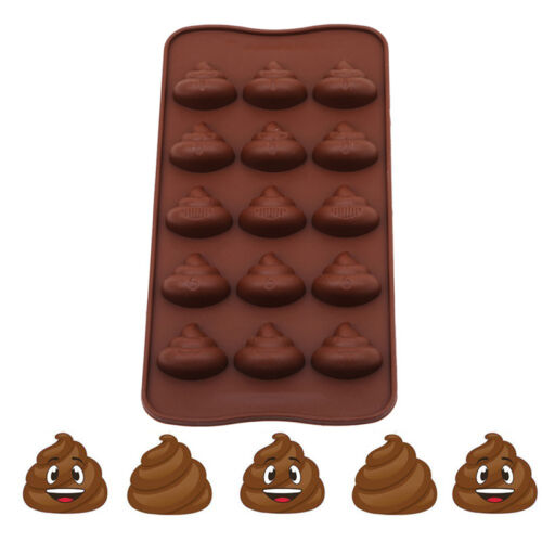 New Cartoon Dog Silicone Cake Fondant Candy Mold Chocolate Soap Baking Mould PS