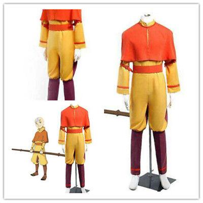 Hot Custom-made Avatar The Last Airbender Aang Cosplay Costume - Aang Avatar Kostüm