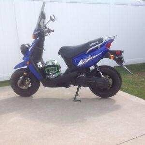 Yamaha BWS (big wheel sport scooter)