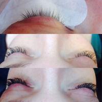 Eye Lash Extension & Nails-$50