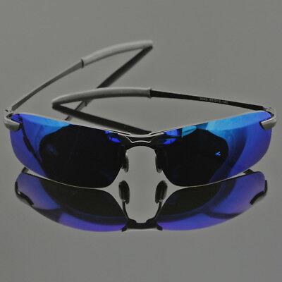 HD Polarized Sunglasses Mens Mirror Driving Pilot Glasses UV