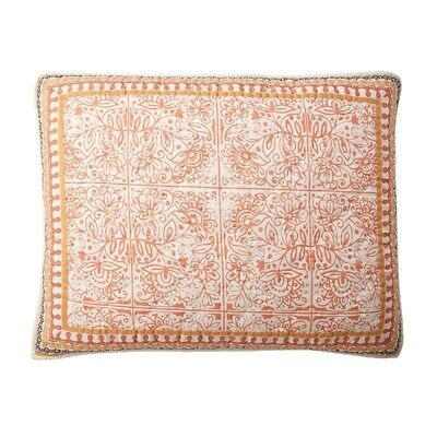 The Company Store Filigree Standard Pillow Sham ONLY! Cotton Multicolored Company Store Pillow