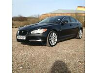 2010 Jaguar XF 3.0TD V6 auto 2010MY S Luxury Black Low Mileage