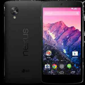 Unlocked LG Nexus 5 in Great Condition (Works with Wind)