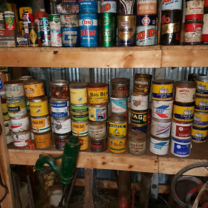 Large amount of antique cans Strathcona County Edmonton Area image 5