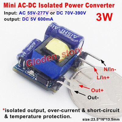 Ac-dc Converter Ac 110v 220v To 5v 600ma Isolated Voltage Switching Transformer