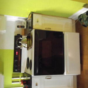 Appliances for sale bc of remodeling.