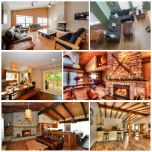 Blue Mountain Fall Getaways - Fantastic Chalets with Hot Tubs
