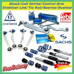 Front & Rear Shock/Coil Spring/Lower & Upper Control Arm/Bushing