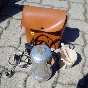 In car coffee/tea maker - collectors item
