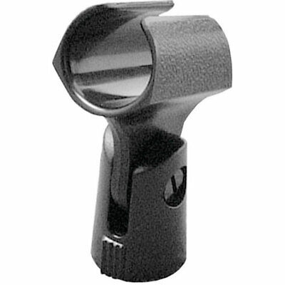 On-Stage Euro-Style Plastic Microphone Mic Clip Holder MY250 Stage Universal Microphone Holder
