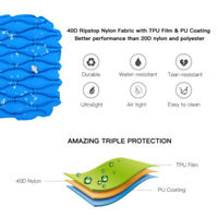 TOMSHOO Innovation Ultralight Inflatable Sleeping Pad Camping Pa