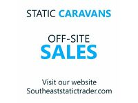 Static caravan/house build. Of site sale cheep