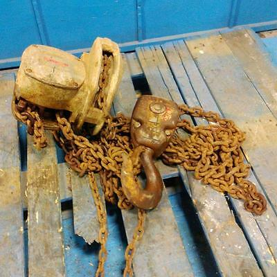 Coffing 4-ton Hand Hoist Listing 2