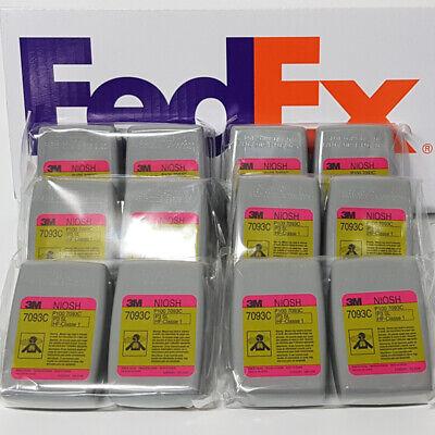 Original 3M 7093C 12 PCS ( 6 PAIR ) - FedEX ( Priority Service )