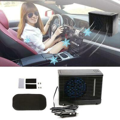 Adjustable 12V Car Air Conditioner  Cooler Cooling Fan Water Ice Evaporative