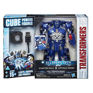 Transformers The Last Knight Allspark Tech Optimus Prime Starter