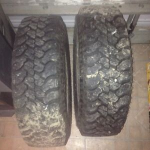 HARDLY USED JUST LIKE  NEW TWO 225/75R16