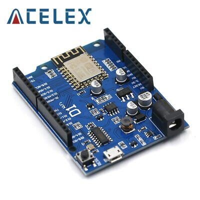 Smart Electronics Esp-12f Wemos D1 Wifi Uno Based Esp8266 Shield For Arduino