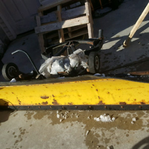 7' Personal Snow Plow