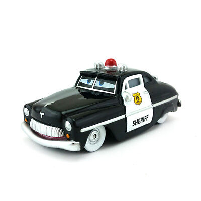 Mattel Disney Pixar Cars Sheriff Toy Car 1:55 Loose Kids Xmas Gift Toys Collect