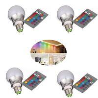 Lampada Rgb A Globo Decorativa 5w/parte Inf. Metallo Lavorato 16colori E27 -  - ebay.it